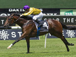 Santos winning the Luxury Network Pierro Plate