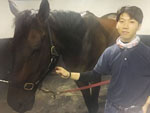 Young Busan jockey Lee Hyo Sik only began riding two years ago, and now takes his first overseas mission aboard Approach in the Korea