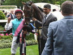 Frankie Dettori and Calyx