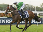 Estijaab winning the Longines Golden Slipper