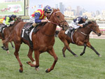 Nature Strip winning the Creswick Stakes
