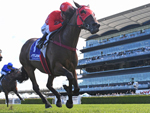 Redzel wins the Challenge Stakes