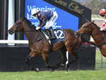 Siren's Fury winning the Coolmore Dark Jewel Classic