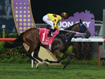 Southern Legend wins last year's Kranji Mile.