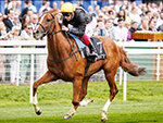 Stradivarius  in full flight at York
