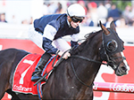 YUCATAN winning the Ladbrokes Herbert Power Stakes during Melbourne Racing at Caulfield in Melbourne, Australia.