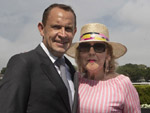 Chris Waller and Denise Martin
