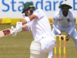 AIDEN MARKRAM of the Proteas during 1st Sunfoil Test match between South Africa and Bangladesh at Senwes Park in Potchefstroom, South Africa.