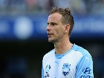 ALEX WILKINSON of Sydney FC looks on during the A-League match between the Central Coast Mariners and Sydney FC at Central Coast Stadium on in Gosford, Australia.