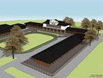 Artists impression of the new Ellerslie stables development
