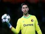 BRAD JONES of Feyenoord looks on during the UEFA Champions League group F match between Feyenoord and Manchester City at Feijenoord Stadion in Rotterdam, Netherlands.