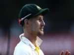 CAMERON BANCROFT of Australia walks from the ground at stumps during the Fifth Test match in the 2017/18 Ashes Series between Australia and England at SCG in Sydney, Australia.