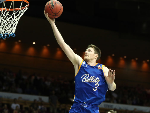 CAMERON GLIDDON of the Bullets shoots during the NBL match between the Brisbane Bullets and the Perth Wildcats at Brisbane Convention & Exhibition Centre in Brisbane, Australia.