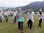 The Club's CEO and senior racing officials lead international guests in a visit to Conghua Racecourse on Monday.