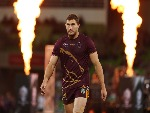 COREY OATES of the Broncos looks on during the NRL Preliminary Final match between the Melbourne Storm and the Brisbane Broncos at AAMI Park in Melbourne, Australia.