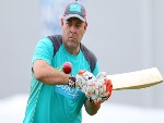 DARREN LEHMANN, coach of Australia, during an Australian nets session at Sydney Cricket Ground in Sydney, Australia.