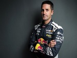JAMIE WHINCUP driver of the #1 Red Bull Holden Racing Team Holden Commodore ZB poses during the 2018 Supercars Media Day at Fox Studios in Sydney, Australia.