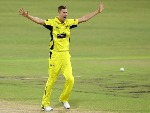 JASON BEHRENDORFF of WA celebrates after taking a wicket during the JLT One Day Cup match between New South Wales and Western Australia at WACA in Perth, Australia.