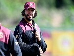 JOHNATHAN THURSTON is seen during a Queensland Maroons State of Origin training session at Sanctuary Cove in Brisbane, Australia.