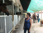 Donna Logan is slowly but surely filling up her stables at Kranji.