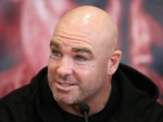 LUCAS BROWNE speaks during a press conference for the heavyweight fight between Dillian Whyte and Lucas Browne at Trinity House in London, England.