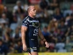MATTHEW SCOTT of the Cowboys looks on during the NRL match between the North Queensland Cowboys and the Gold Coast Titans at 1300SMILES Stadium in Townsville, Australia.
