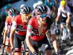 RICHIE PORTE of Australia riding for BMC Racing Team rides in the peloton during stage five of the 2017 Le Tour de France.