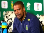 VERNON PHILANDER of South Africa after Sunfoil Test match between South Africa and Australia at St Georges Park in Port Elizabeth, South Africa.