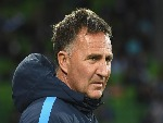 WARREN JOYCE the coach of Melbourne City looks on during the A-League match between Melbourne City FC and Sydney FC at AAMI Park in Melbourne, Australia.