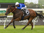 Alizee winning the Expressway Stakes