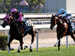 Beauty Generation winning the The Stewards' Cup