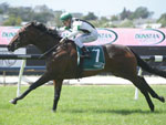Ever Loyal winning the Dunstan Feeds Hcp