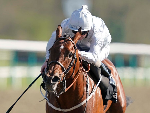 MATTERHORN winning the Betway Easter Classic All-Weather Middle Distance Championships Conditions Stakes on All-Weather Championships Finals Day at Lingfield Park in Lingfield, England.