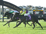 Rhaegar winning the Piazza D'Oro Futurity Stakes