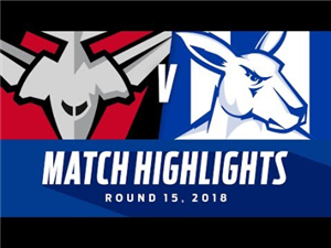 Essendon v North Melbourne Highlights