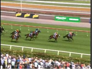 Black Caviar's 19Th Consecutive Win In The Coolmore Lightning Stakes - Flemington Racecourse.