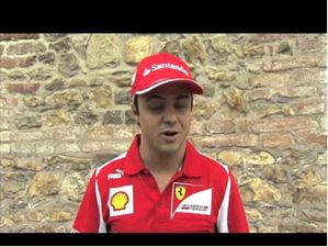 F1 2012 - Ferrari - Interview With Felipe Massa Before Spa