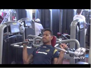 Wallabies 2014: Wallabies Arrive In Cape Town
