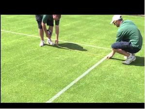 How Long Does It Take To Mark The Lines At Wimbledon?